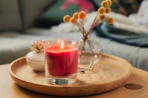 candle-auburn